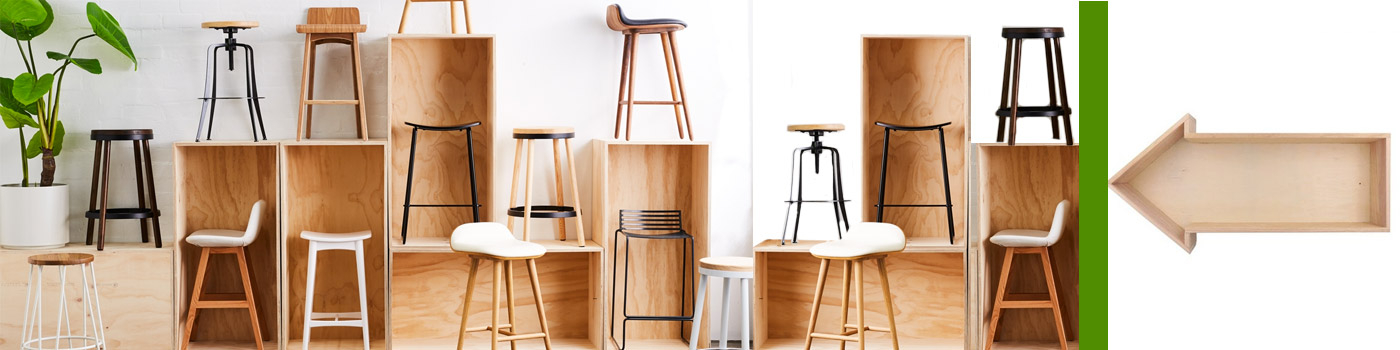 comment disposer un tabouret de bar?